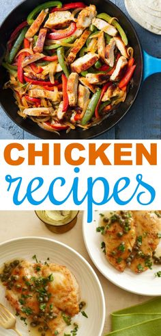 Today I want to show you these amazing Chicken Recipes that  will excite your taste buds! If you're looking for some new and exciting ways  to cook chicken, these easy chicken recipes are perfect for you. #recipes #easyrecipes #funrecipes #deliciousrecipes  #recipeideas #easyrecipeideas #yummyrecipes #cooking #chicken #chickenrecipes