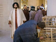 Cleansing the templeFree Bible images of Jesus cleansing the Temple by overturning the money changers' tables and driving out those buying a...