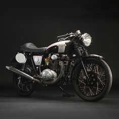 The term 'café racer' is bandied about so much these days, it's virtually lost all meaning. But this sleek Honda CB 350 is one of the few modern customs that live up to the moniker. It's the personal project of Jason Paul Michaels, co-founder of Dime City Cycles, and configured for the AHRMA vintage race series. It'd look pretty good in your garage though, wouldn't it?