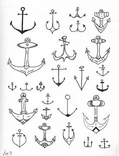 I love this anchor pattern. I could integrate this into some DIY fashion.