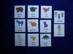 Brown Bear What Do You See? Story Sequencing Cards