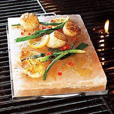 Himalayan Salt Plate, hot or cold!