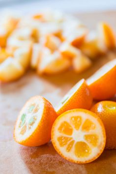 Recipe for Kumquat Marmalade.