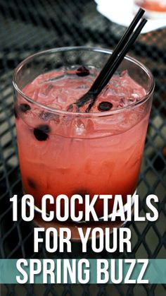 A Berry Lemonade Cocktail can be the perfect way to celebrate spring.