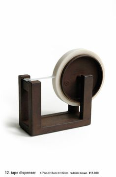$186 Nambu Japanese Laquer Iron Tape Dispenser.