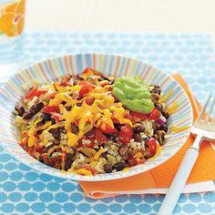 Rice and Bean Bowl recipe