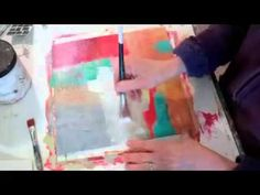 Expressive Collage and Painting Video Jane Davies Studios