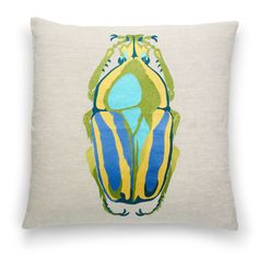 Beetle Pillow Cover $44.00