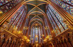 La Sainte-Chapelle, Paris. Photo by Trey Ratcliff