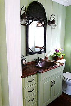 Second bathroom ideas on pinterest shower curtains for Second bathroom ideas