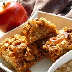 """Apple Butterscotch Bars 