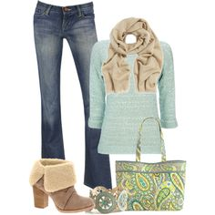 boot, vera bradley outfits