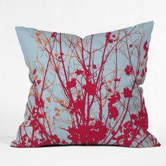 Rosie Brown Happy Autumn Outdoor Throw Pillow | DENY Designs Home Accessories  #homedecor #pillow #art #autumn #denydesigns