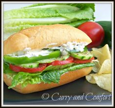 Salad Sub Sandwich
