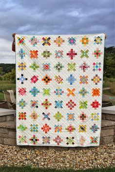 City House Studio: Scrappy Squares Quilt