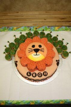 Lion Cupcake Cake?