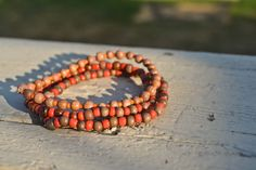 $8 (plus shipping) Elastic bracelets made from recycled/reused beads-- sold together.    With each purchase help fight HIV/AIDS and provide clean drinking water to those struggling in Africa. 10% of each purchase will be donated to Blood:Water Mission.
