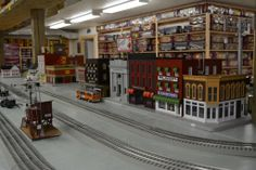 Stockyard Express in Oberlin, Ohio...everything trains!