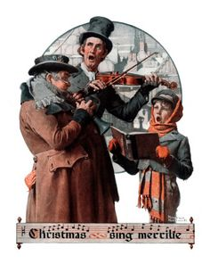 """Christmas Trio"" or ""Sing Merrille"", December 8,1923"
