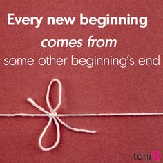 New beginnings #quote