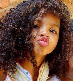 Kissy face!