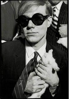 Andy Warhol byJean Jacques Bugat, 1966  #truenewyork #lovenyc