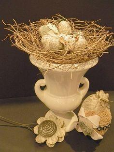 Ovos para Decorar com Decoupage