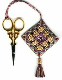 Beaded Scissor Keeper by Gary Clarke