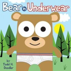 October 23, 2013. While playing hide-and-seek, Bear finds a backpack filled with underwear.