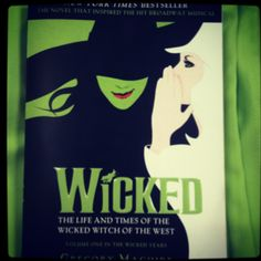 So excited to start reading my wicked book! Love it!!!