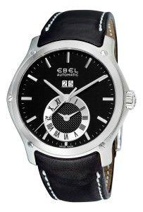 Ebel Men's Hexagon Black Chronograph Dial Watch