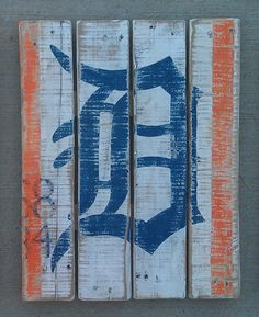 Detroit Tigers Art
