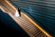 #real #city #wedding #austin Austin Texas Wedding at Blanton Museum by Jenny DeMarco Photo on Marry Me Metro #venue