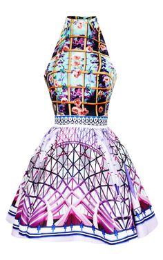 Shop Folli Rose Runner Trinkolo Dress by Mary Katrantzou - Moda Operandi