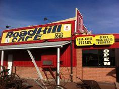 Roadkill Cafe in Seligman, Arizona favorit place, roadkil cafe, rout 66, 66 trip, rte 66