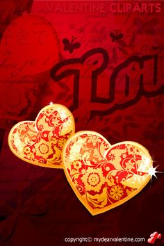 Shining Valentine Hearts