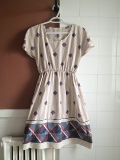 How to make a tunic dress. Bedsheet Dress - Step 14