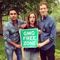 Our movie has an entirely GMO Free set! Including @Kunal Nayyar! #thefoodmovie