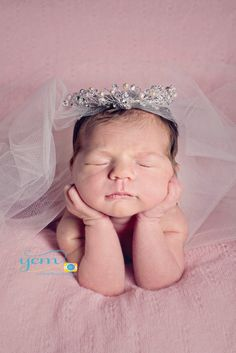 "Enchanted Shimmer Designs Skylar ""big girl crown"""