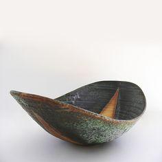 """High Desert Infinity Wave Bowl""  Ceramic Bowl    Created by Tatiana Hunter"