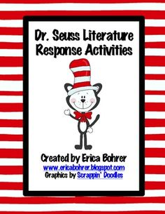 This download is for Dr. Seuss literature response activities.  Included is a buddy reading log, a Yertle the Turtle response and art project, a Ho...
