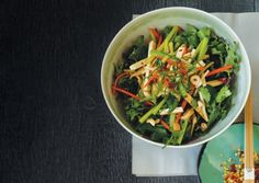 Chinese-Style Shredded Vegetable and Tofu Salad | Vegetarian Times