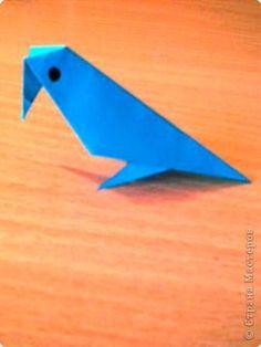 """Игрушка, Мастер-класс Оригами: Мастер - класс """"Делаем ворону"""" Бумага Отдых. Фото 1"""