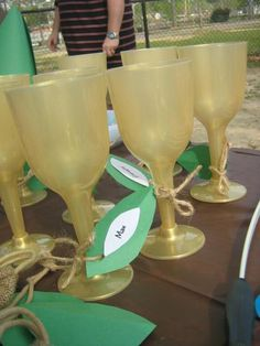 Goblets- robin hood party