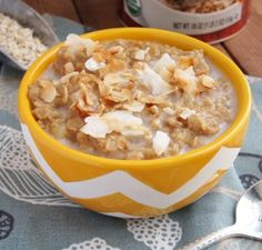 Peach Tea Oatmeal