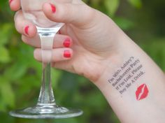 25 Bachelorette Tattoos  Bachelorette Party by SymbolicImports, $45.00