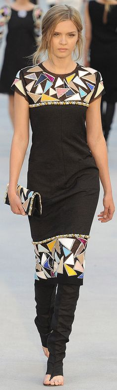 Chanel Resort 2012 coco chanel, xx fashion, style, resort 2012, resorts, dress, chanel cloth, chanel fashion, chanel resort