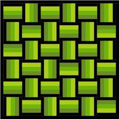 craft, 42 quilt, basket weave quilt pattern, color pallettes, block 27