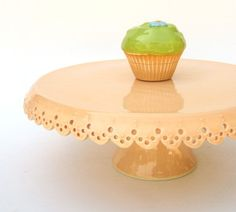 just peachy cake stand