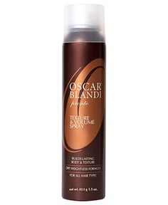 Oscar Blandi Texture and Volume Spray!!  Awesome product!